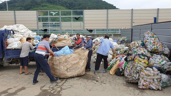 김해농촌지도연합회, 영농폐기물 수거활동