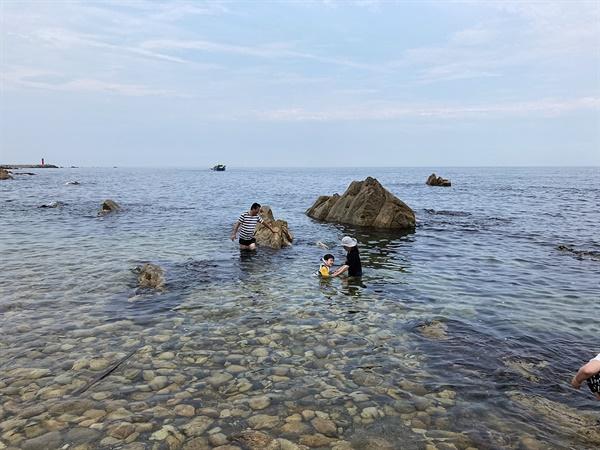 경주 동해안 해파랑길 주변 바닷가 모습