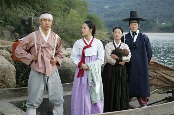 토지 김현주, 유준상 주연의 SBS 드라마 <토지> 한 장면.