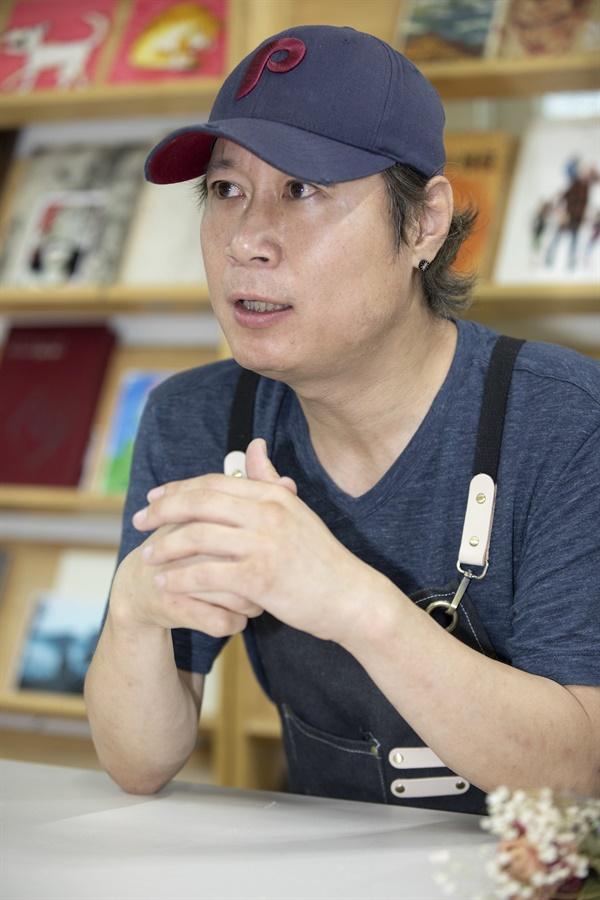 김도언 작가 (사진 : 정민구 기자)