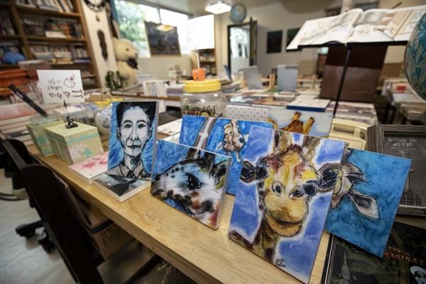 살롱 도스또옙스끼 내부 모습 (사진 : 정민구 기자)