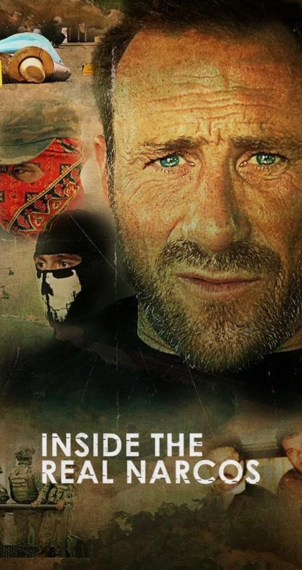 넷플릭스 오리지널 다큐멘터리 시리즈 <리얼 나르코스 리포트> 포스터.