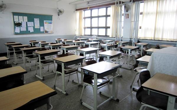 서울의 한 고등학교 교실 모습.