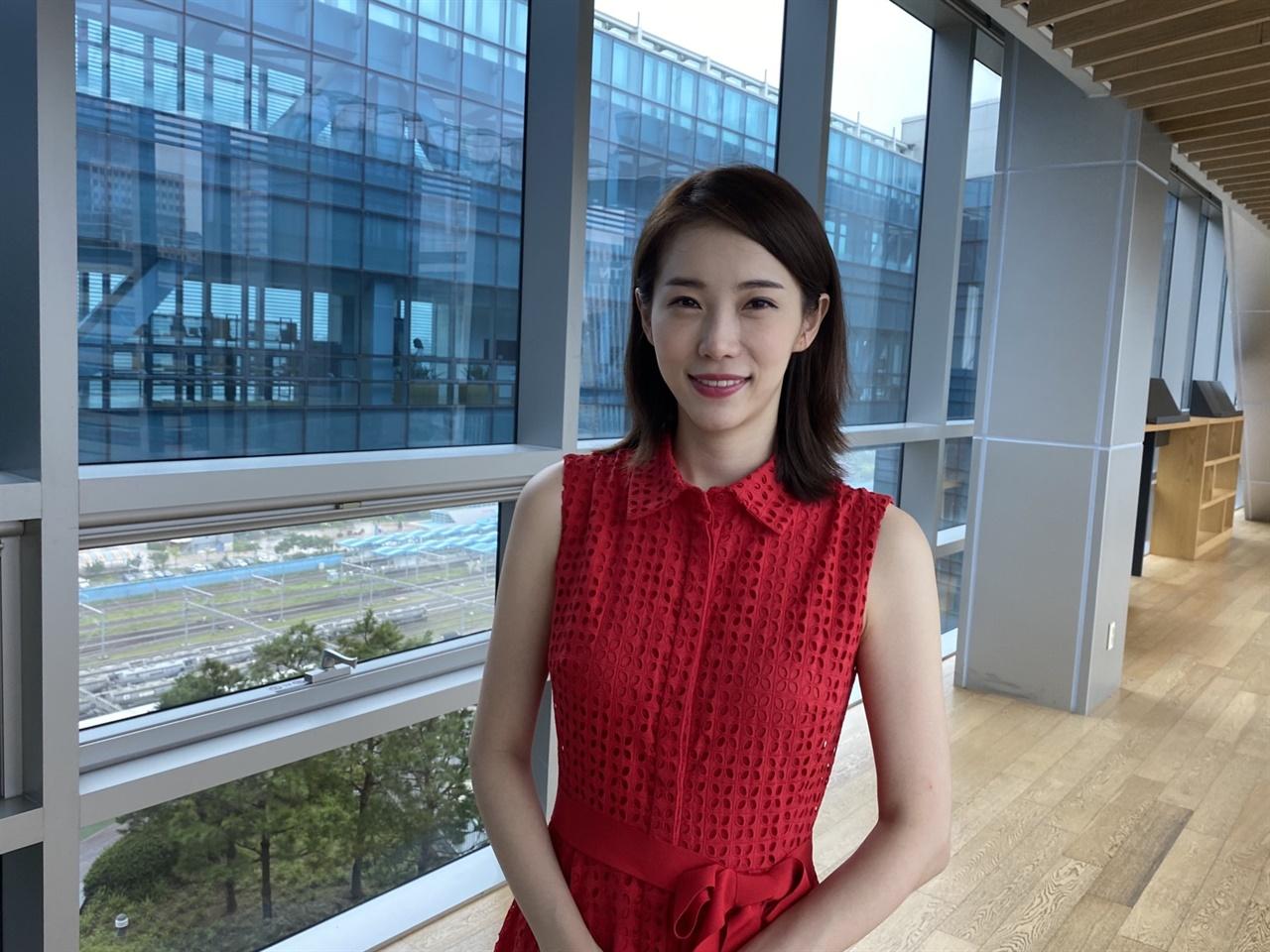 김초롱 MBC 주말 <뉴스데스크> 앵커