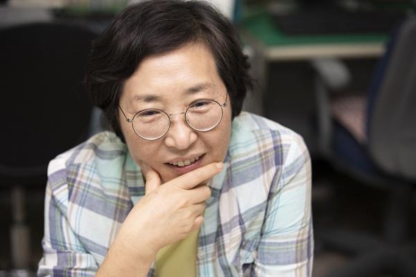 구로타임즈 김경숙 대표 (사진 : 정민구 기자)