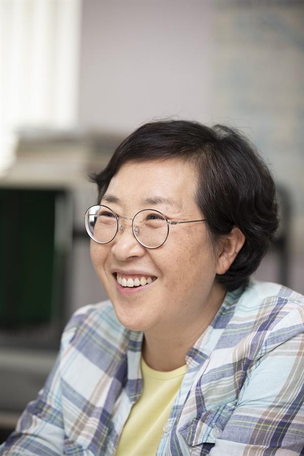 구로타임즈 김경숙 대표 (사진 :정민구 기자)