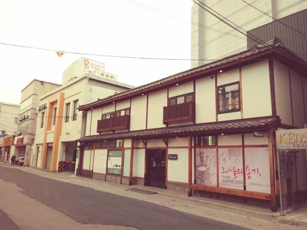 """""""일본군 '위안부'"""" 역사를 기리기 취해 대구에 건립된 희움 일본군 '위안부' 역사관. 희움은 '희망을 모아 꽃 피움'이라는 의미다."""