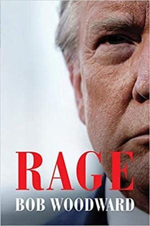 미국 언론인 밥 우드워드의 신간 '분노' 표지 갈무리.