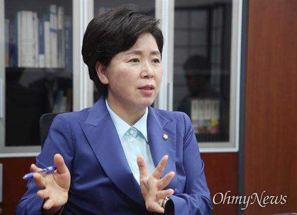 더불어민주당 최고위원에 출마한 양향자 의원.