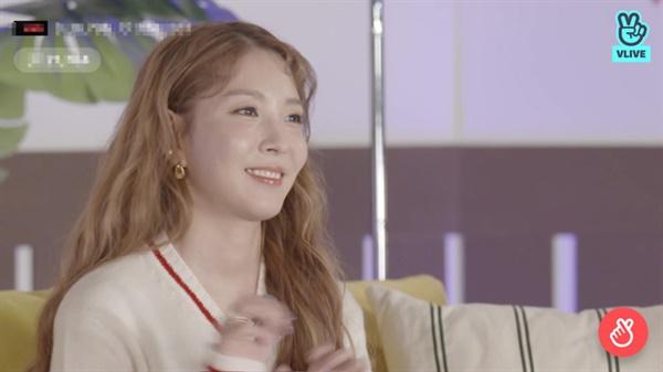 지난 25일 진행된 보아 데뷔 20주년 기념 V라이브