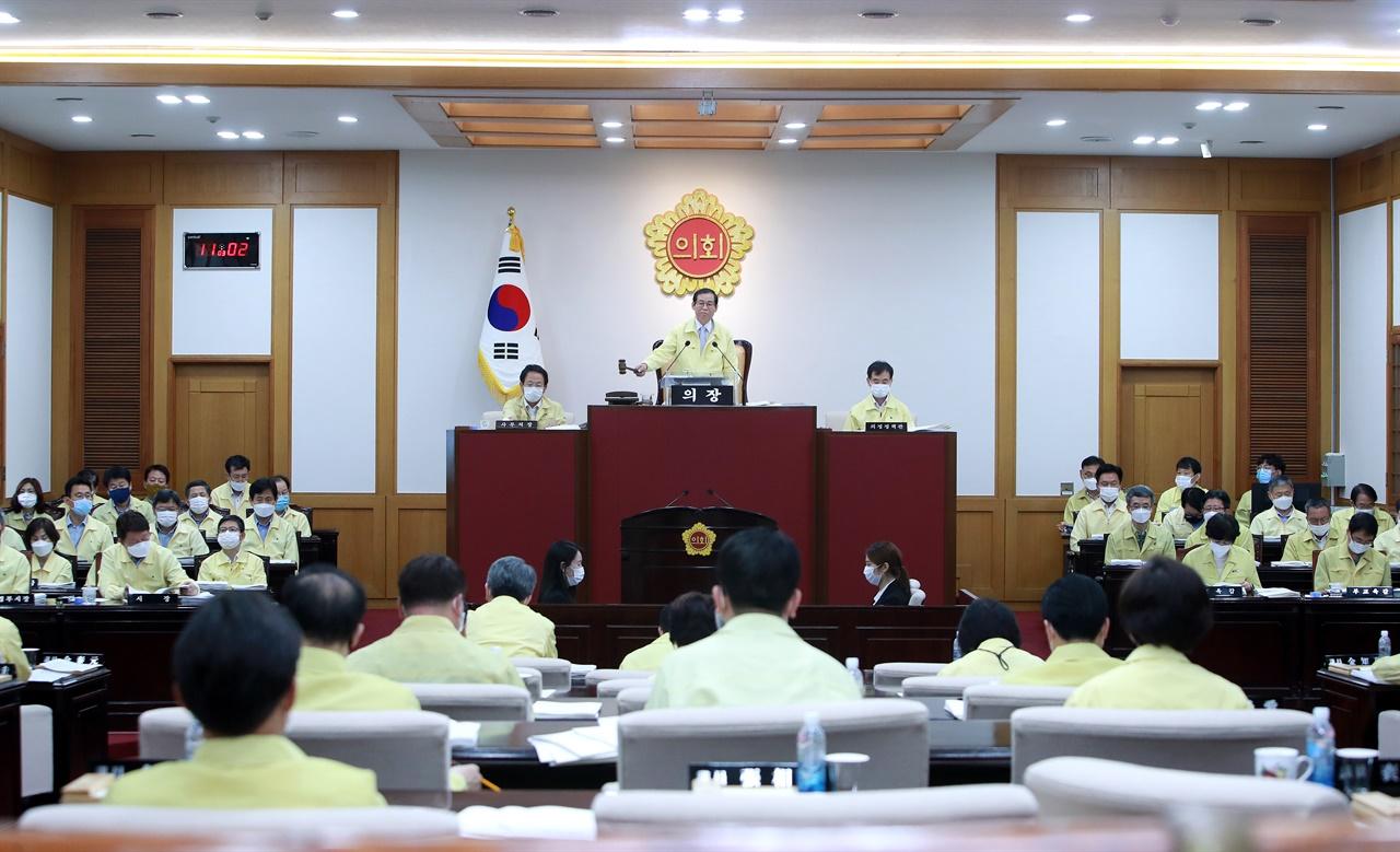대구광역시의회 7월 임시회 폐회식