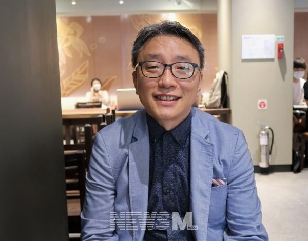 극우 기독교를 반대하는 시민들의 모임을 제안한 박 교수(사진=황재혁 기자)