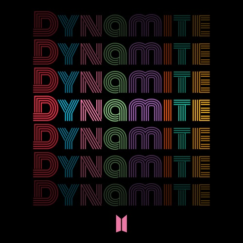 BTS의 신곡 '다이너마이트' 표지
