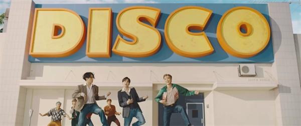 방탄소년단 '다이너마이트' 뮤직비디오