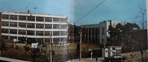 한신국민학교 옛 교정 수유동에 있던 한신국민학교 전경. 지금은 쌍문동으로 옮겨갔다.