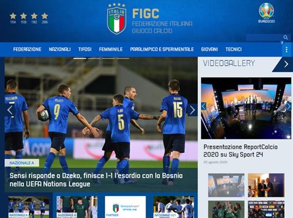 이탈리아 대표팀 이탈리아가 보스니아와의 UEFA 네이션스리그 홈 경기에서 후반 22분 터진 센시의 동점골로 1-1 무승부를 거뒀다.