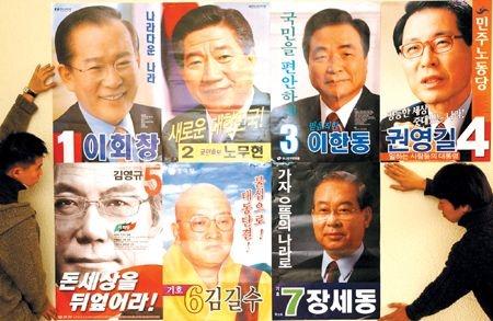 제16대 대통령 선거 벽보