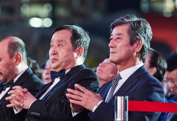 2020 부산영화제 개최를 놓고 고민했던 아용관 이사장과 전양준 집행위원장