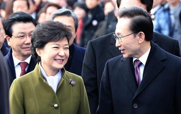 제17대, 18대  대통령 이명박과 박근혜