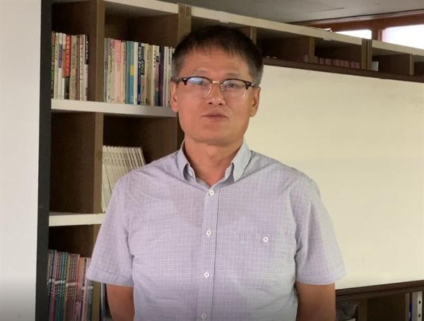 단원고 2학년4반 고 박수현군 아버지 박종대씨. .