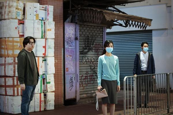 25회 부산국제영화제 개막작. <칠중주 : 홍콩이야기>