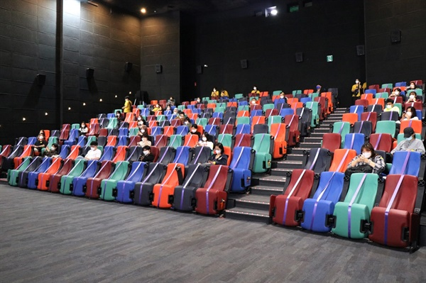 22회 서울국제여성영화제 상영관 모습