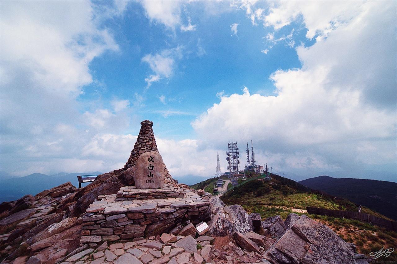 함백산 정상 (Ektar100)너무 쉽게 오게 되어 산에게 조금은 민망했다.