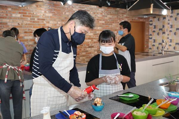 9월 19일 열린 경남 '고성군청소년센터 온' 개소식.