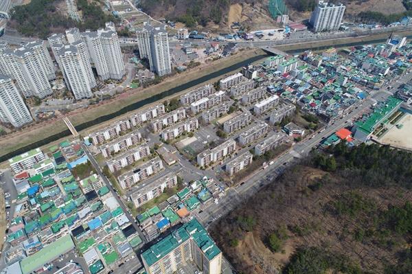 진주시 이현동 주공아파트.
