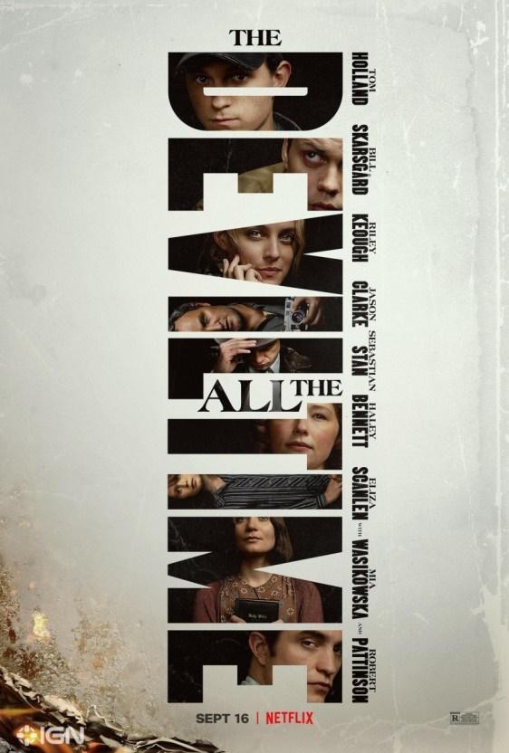 넷플릭스 오리지널 영화 <악마는 사라지지 않는다> 포스터.