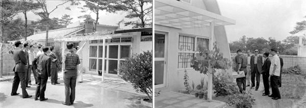 수유리 단독주택 단지 (1964) 수유리는 서울 외곽의 쾌적한 주거 지역으로 각광 받았다