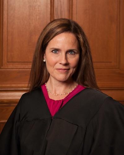 에이미 코니 배럿 판사.