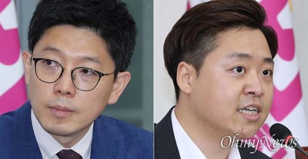 김병민(좌), 정원석(우) 국민의힘 비상대책위원
