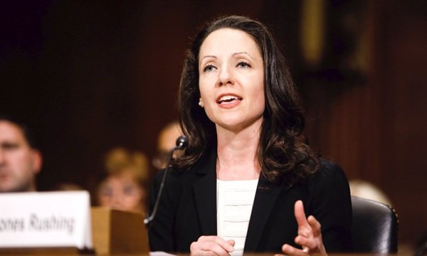 도널드 트럼프 미국 대통령이 새 대법관 후보자로 거론한 38세의 앨리슨 존슨 러싱 판사