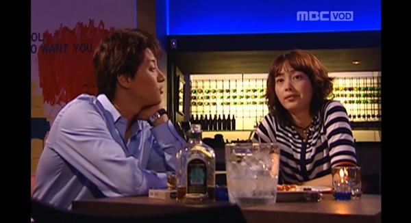 2002년 방송된 드라마 <네 멋대로 해라>의 한 장면