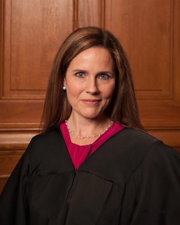 에이미 코니 배럿 미 연방대법관 후보자