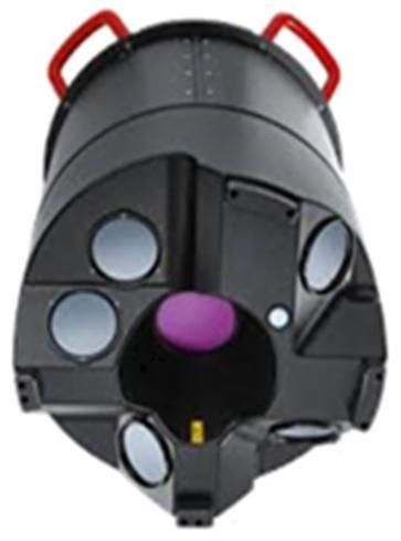 이번 항공영상은 최신의 '항공 라이다(LiDAR: 레이저 펄스를 발사하고 그 빛이 주위의 대상 물체에서 반사되어 돌아오는 것을 받아 물체까지의 거리 등을 측정하는 장치)' 장비로 촬영한다.