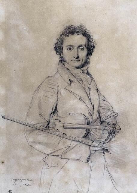 니콜로 파가니니  낭만적이고 신비한 분위기의 이탈리아 바이올린 연주자이자 작곡가인 파가니니. 그가 혁신적으로 바꾸어놓은 바이올린 기법은 후대 거장들이 자주 모방했다고 전해진다.