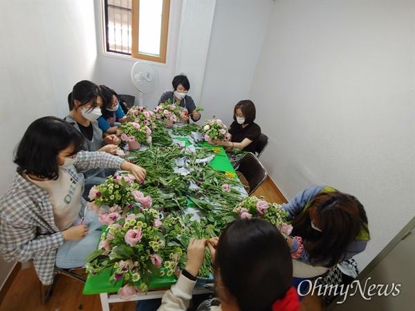 꿈의학교 학생들 수업 모습