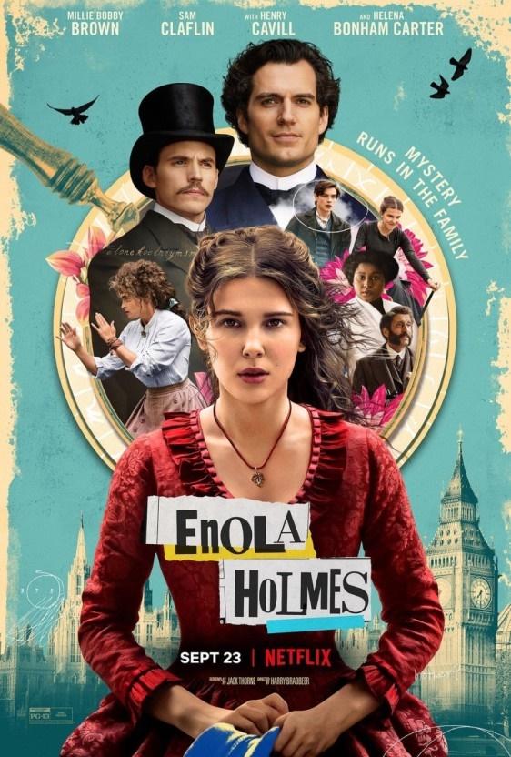 넷플릭스 오리지널 영화 <에놀라 홈즈> 포스터.
