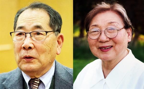 한상기 박사와 아내 김정자 여사.