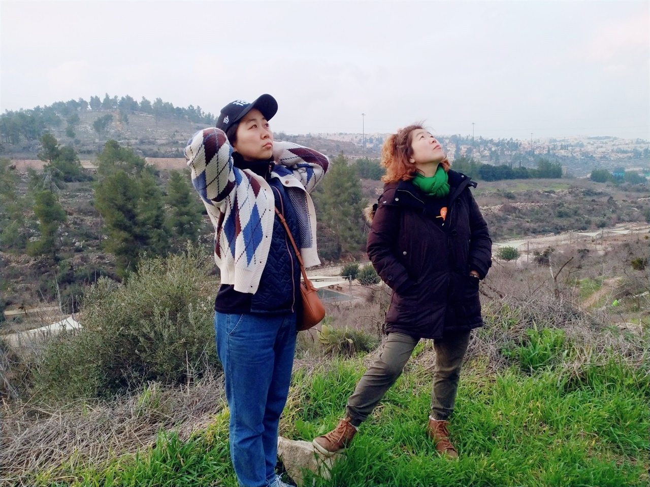 2020년 2월 예루살렘 인근, '리프타' 마을에서. 이스라엘은 1948년을 전후해 팔레스타인 마을을 부수고 원주민을 인종청소하며 건국됐다. 이스라엘은 난민들의 귀환을 금지한 채 이 마을을 자연공원으로 쓰고 있다.