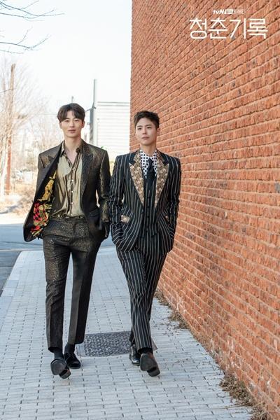 '청춘기록' 혜준과 해효는 극명히 다른 성장배경에도 불구하고 깊은 우정을 이어간다.