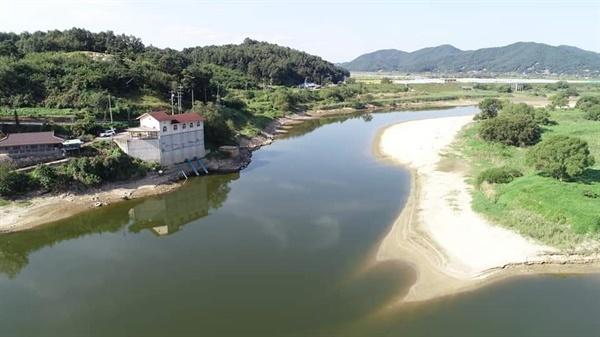 충남 청양군 왕진양수장.