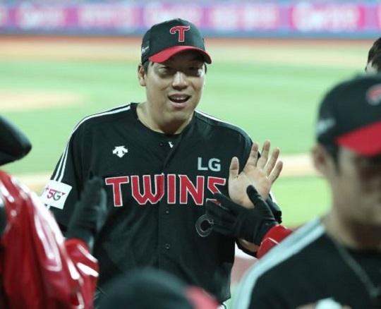 류중일 감독의 변함없는 신뢰를 받고 있는 LG 김현수