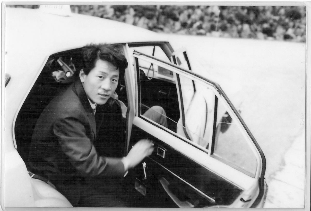 미국 이민생활 중의 친구 양철웅(1990년대 모습. 그는 나의 장편소설 '용서'의 실제인물이다.)으로 소천 직전의 모습이라고 했다.