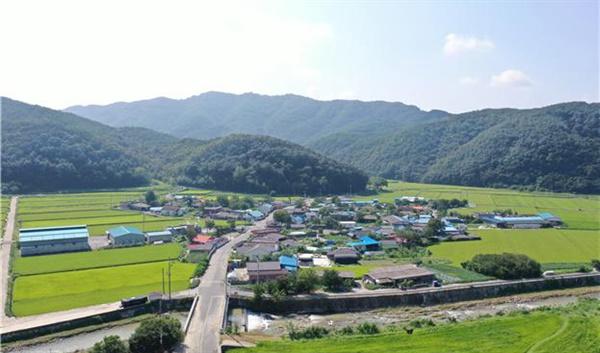 경남 의령군 대의면 중촌마을.