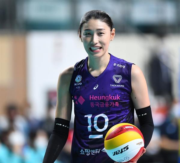 김연경 선수... 2020-2021시즌 V리그