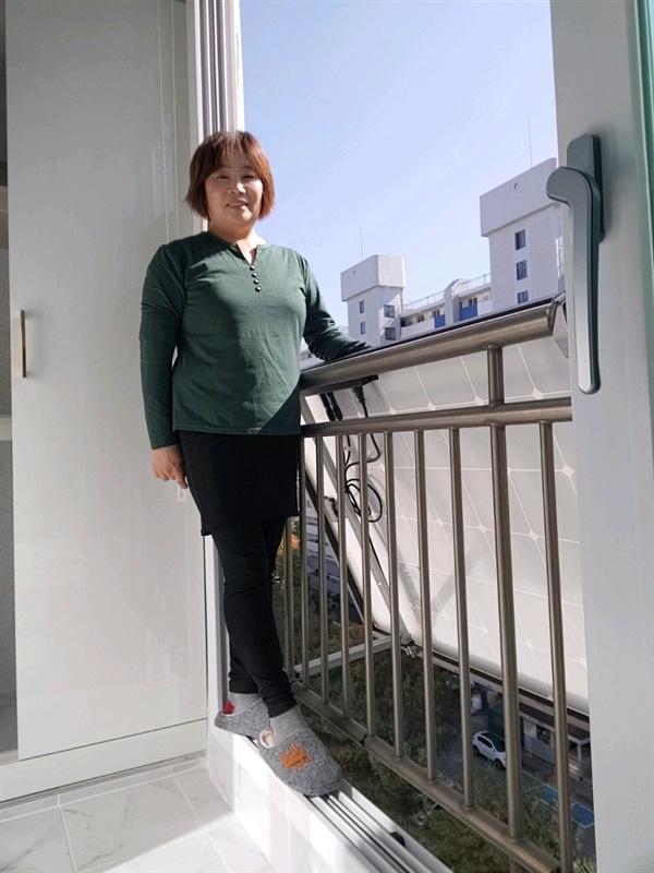 미니태양광 보급사업 신청자 안복순씨
