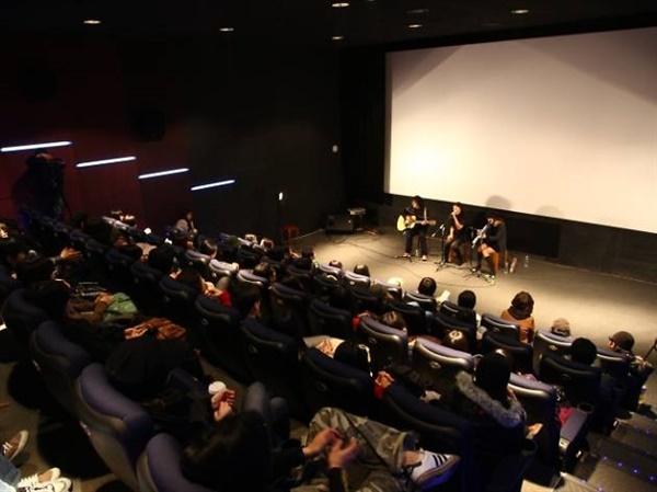 서울 마포구 홍대인근에 위치한 KT&G 상상마당 극장 내 풍경.